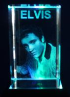 Elvis Presley, star-crystal-laser-blocks